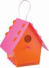 Vogelhaus DIY AVIARY orange-pink