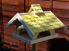 Vogelhaus mit Nistkasten BTV-VONI5-gelb001 NEU