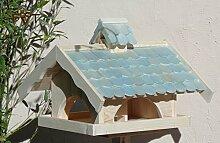 Vogelhaus mit Nistkasten BTV-VONI5-türkis001 NEU
