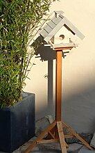 Vogelhaus mit Ständer BEL-X-VOWA3-MS-grau002