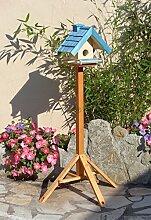 Vogelhaus mit Ständer BTV-VOWA3-MS-blau001