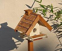 Vogelhaus mit Ständer BTV-VOWA3-MS-dbraun001 NEU