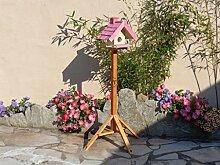 Vogelhaus mit Ständer BTV-VOWA3-MS-pink002