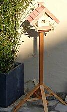 Vogelhaus mit Ständer BTV-VOWA3-MS-rot002