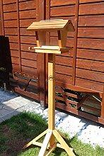 vogelhaus mit ständer BTV-X-VOFU2G-MS-dbraun002