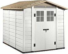 Vogelhaus PVC beige Boden Box Ausrüstungstasche