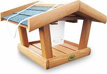 Vogelhaus Singdrossel mit Silo - Habau