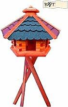 Vogelhaus, Vogelfutterhaus mit Ständer, BTV XXL