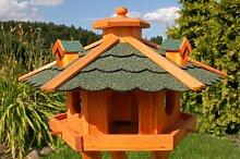 Vogelhaus, Vogelhäuschen behandelt mit
