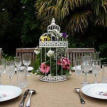 Vogelkäfig–Dekoration Hochzeit, 47 cm