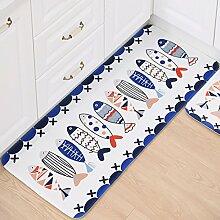 Vogelkäfig, 500x 800mm: Muster Teppich für Wohnzimmer lang Küche Teppiche Flanell Schlafzimmer Nachttisch Badteppich