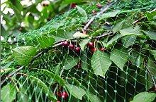 Vogelschutznetz Vogelnetz Laubnetz Vogel Teich Netz 5x4m mit 4 Erdnägel 2407