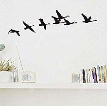 Vogelschwarm Flying Wall Aufkleber für
