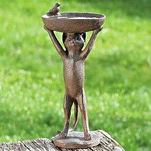 Vogeltränke Katze