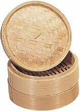 Vogue Bamboo Steamer 6In Kochen Herd Küchengerät