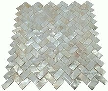 Vogue Tile ECHTE Mutter von Pearl Oyster