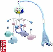vogueyouth Baby Musical Cot Mobile mit Musik Licht