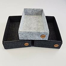 VOIGTdesign Box Filz Aufbewahrung Ordnung