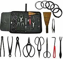 Voilamart Bonsai-Werkzeug,10-Teiliges Set