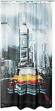 Voile Dekoschal bedruckt ca. 140x245 Vorhang