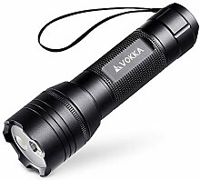 VOKKA Dual-LED Taschenlampe - USB Wiederaufladbare
