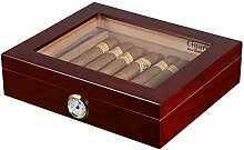 Volenx Zigarren Humidor Mit Hygrometer Hält