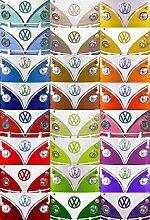 Volkswagen Bulli Pop-Art Foto-Tapete 2-teilig 232x158 cm