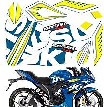 Voll Abziehbilder Motorrad Aufkleber Modified