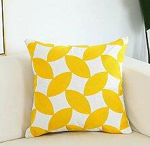 Voll Bestickte Kissen Sofa Büro Nickerchen Taille
