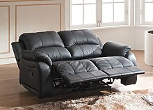 Voll-Leder Couch Sofa Relaxsessel Fernsehsessel Fernsehsofa 5129-2-S sofor