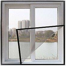 Vollbild Magnetvorhang für Fenster, DIY Fiberglas