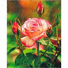 Vollbohrer 5D Diy Diamant Malerei Blume Stickerei