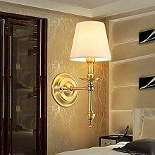 Volle Kupfer Wandleuchte Schlafzimmer