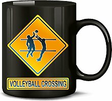 Volleyball Crossing 2233 Sport Fun Tasse Geschenke