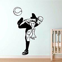 Volleyball Spieler Wandkunst Aufkleber Aufkleber