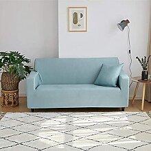 Vollfarbige elastische Sofa-Cover-Spandex modernes