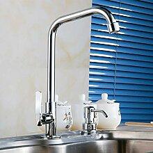 Vollkupfer Küchenarmatur Waschbecken Waschbecken