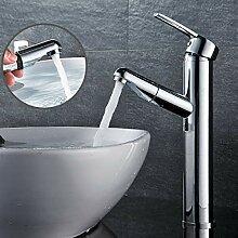 Vollkupfer Schwarz Ramen Waschbecken Wasserhahn