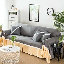 Volltonfarbe Sofabezug, 1-teilige Spitze