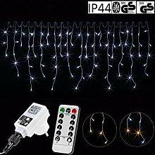 VOLTRONIC® 600LED Eisregen Lichterkette für