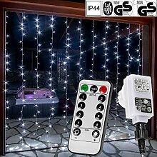 VOLTRONIC® LED Lichtervorhang Lichterkette für
