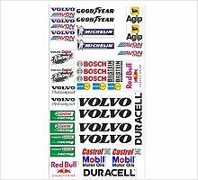 Volvo Logo Autoaufkleber Sponsoren Marken Aufkleber Decals Tuning Sticker Se