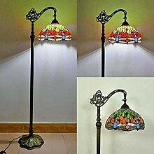 VOMI Vintage Tiffany Stehlampe, Schlafzimmer