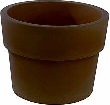 Vondom 40250–Becher einfach mit Durchmesser von 50x 38cm, Bronze