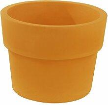 Vondom 40260–Becher einfach mit Durchmesser 60x 46cm, orange