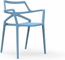 Vondom - Delta Armlehnstuhl - blau - Jorge Pensi