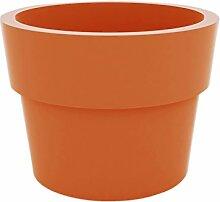 Vondom Planters–Becher, Durchmesser 30x 23cm, lackiert, orange