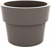 Vondom Planters–Becher, Durchmesser 30x 23cm, lackiert, taupe