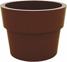 Vondom Planters–Becher, Durchmesser 35x 27cm, lackiert, bronzefarben