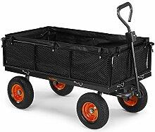 VonHaus 600 kg Gitterwagen/Gartenwagen/Handwagen